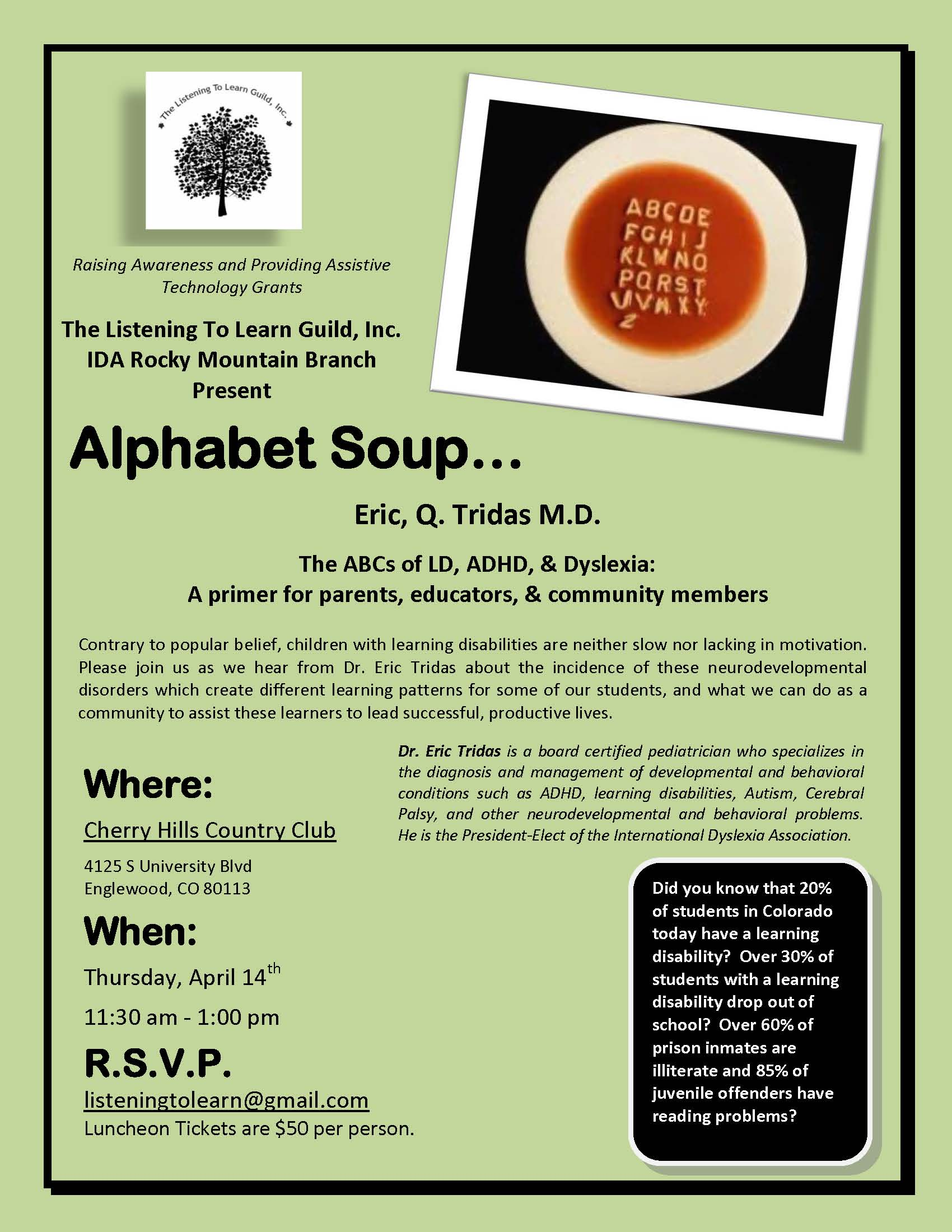 Dyslexia Awareness Campaign Upcoming >> Alphabet Soup A Dyslexia Primer Denver Dyslexia Awareness Blog